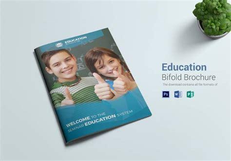 Innovative A4 Bi Fold Brochure Template Free 24 Useful School Brochure Templates Sle Templates