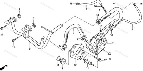 Honda Motorcycle Oem Parts Diagram For Air Suction