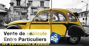 Démarche Pour Vendre Une Voiture : vendre sa voiture un particulier les d marches ~ Gottalentnigeria.com Avis de Voitures