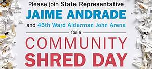 upcoming events community shred day re elect john With where can i shred documents myself