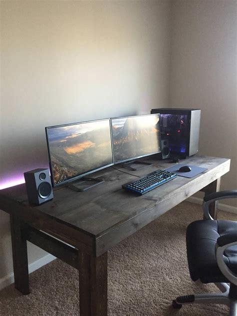 custom build custom computer desk diy computer