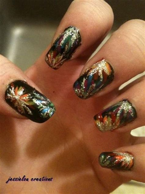 years eve brilliant nail art designs