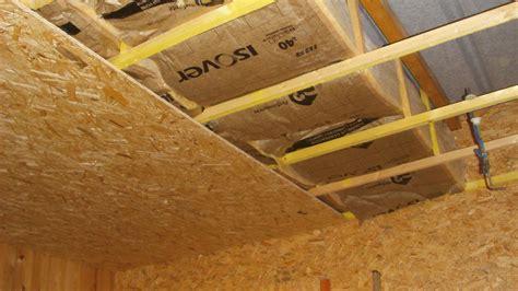 faire un plafond dans un garage isolation plafond garage on vous donne des conseils dans cet encart