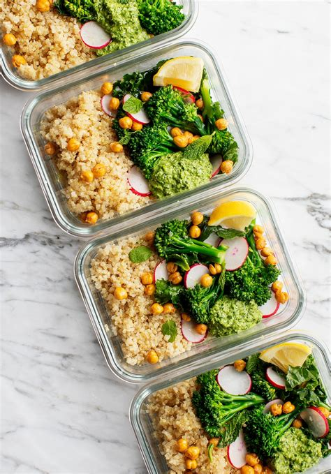 healthy meal prep ideas recipe love  lemons