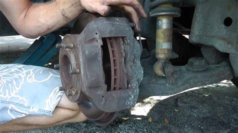 toyota  runnerttacoma diy front brake pads