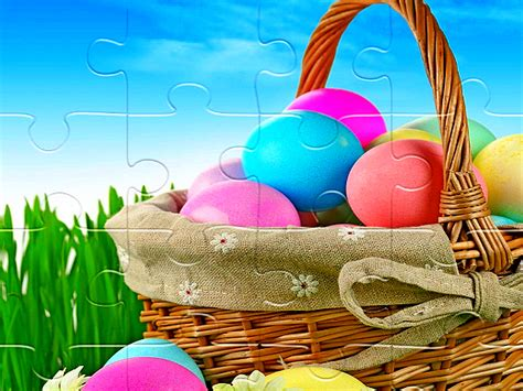 Easter Puzzle - Play Free Puzzles Online At Games 18 Plus