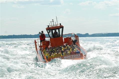 Lachine Rapids Jet Boat by Saute Moutons Jet Boating Montreal Reviews Of Saute