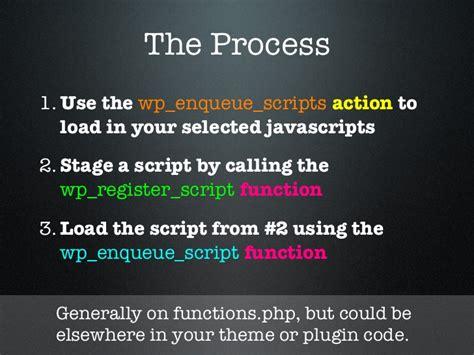 Javascript In Wordpress (ocwp March 2012