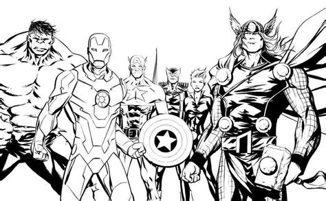 avengers coloring pages getcoloringpagescom