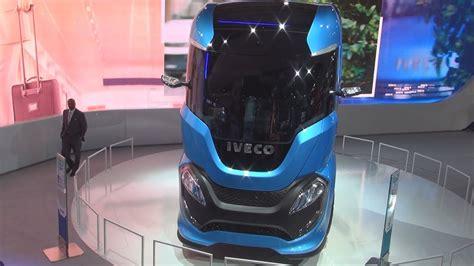 iveco  truck lng future truck exterior  interior youtube