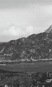 Dunree Coastline Bw Donegal Ireland Photograph by Eddie Barron