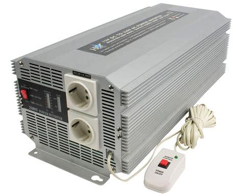 stromwandler 12v 230v hq 174 wechselrichter spannungswandler 12v batterie auf 230v