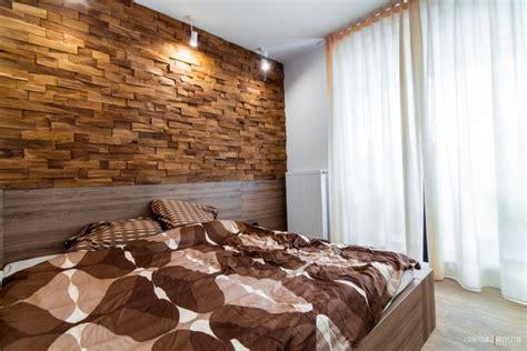 appartement d 233 co scandinave mur avec parements en bois