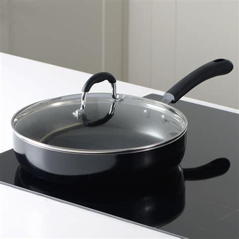 oven safe pans stick non pan pots saute lid dishwasher procook cookware gourmet