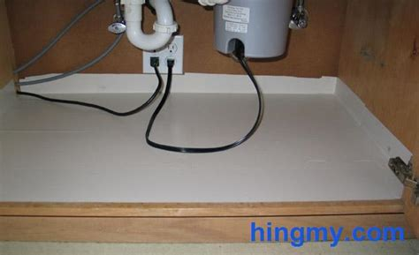 kitchen cabinet water protection water proofing the sink cabinet in your kitchen