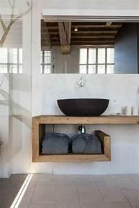 Waschbecken Aus Holz : waschtisch aus holz u form handtuecher waschbecken schwarz glas wand fliesen bathroom candle ~ Sanjose-hotels-ca.com Haus und Dekorationen