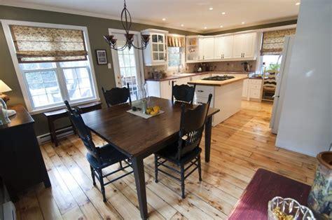 plan de cuisine ouverte sur salle a manger hudson coquette maison grand terrain lapresse ca
