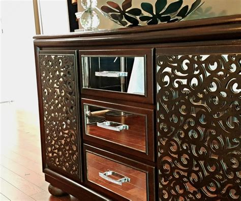 How To Make A Sideboard by How To Make A Mirrored Buffet From A Dresser Design By D9