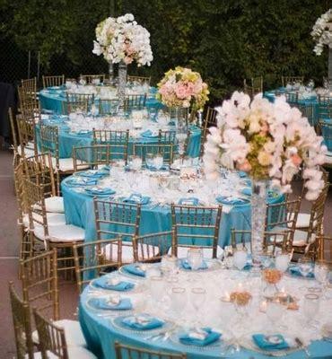 d 233 coration de mariage bleu turquoise mariageoriginal