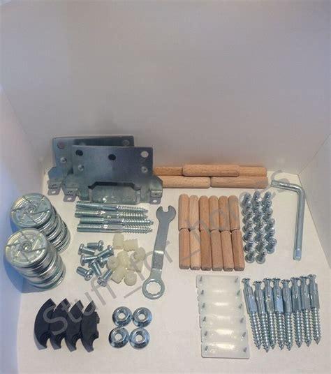 ikea malm complete set  screws  fixings high