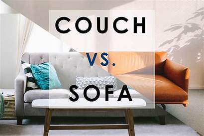 Couch Sofa Difference Between Furniture Kept Generally