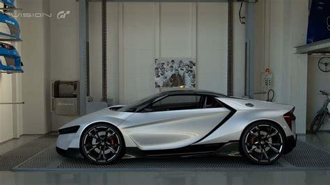Honda Dévoile Son Concept Vision Gran Turismo