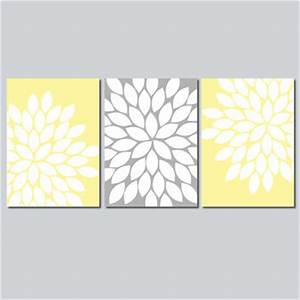 wall art design ideas good combination wall art yellow With nice yellow and gray wall decals