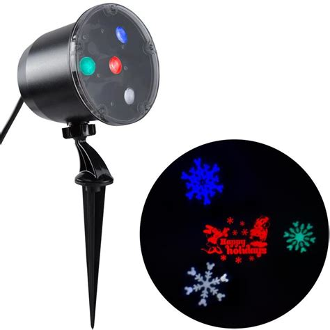 gemmy lightshow projection multi function multicolor led