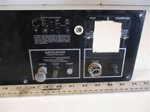 1988 Regal Empress 200xl Marine Boat Dash Switch Panel