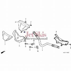 Honda Aquatrax Part  90651-mt3-000 Clip - Body Hardware - Body Parts