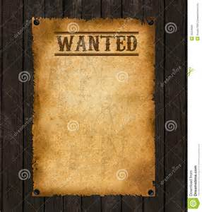 Free Printable Western Wanted Sign