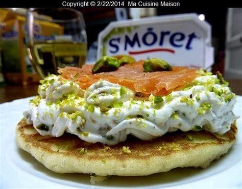 recette blinis au st mor 234 t et saumon fum 233 750g