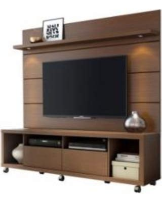 Deals on Cabrini TV Stand and Floating Wall TV Panel with