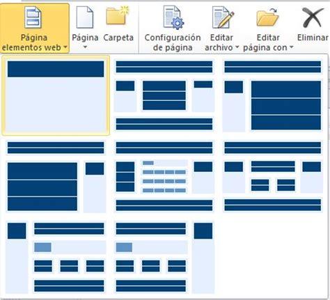 Crear Template De Pagina En by Crear P 225 Ginas De Sitio De Sharepoint Sharepoint