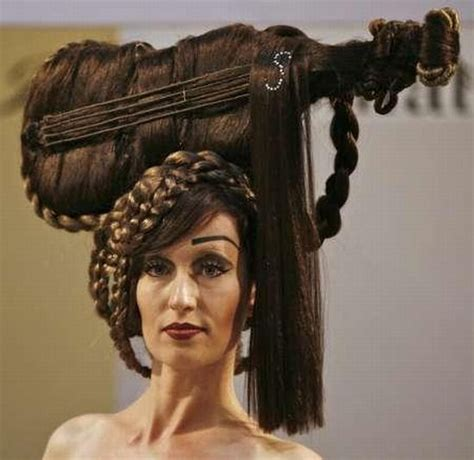 unique hair style fashion trends the most unique hair styles in the world