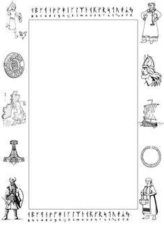 Viking rune stone worksheet/activity runestone.gif (549