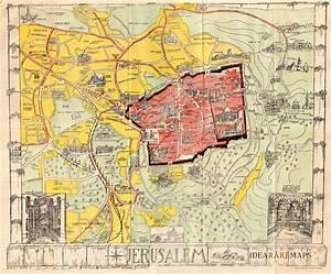 Guide Map Of Jerusalem