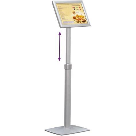 a3 floor standing snap frame display adjustable height