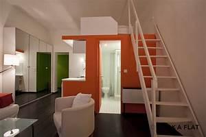 Studio Mezzanine Paris : plan studio mezzanine great stacked timber beams act as ~ Zukunftsfamilie.com Idées de Décoration