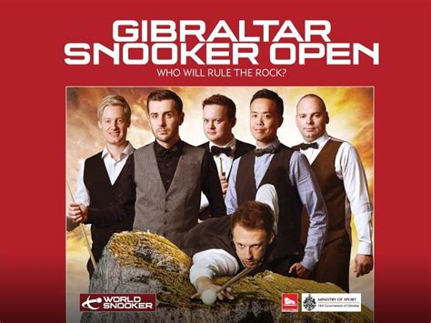 Gibraltar Open Preview And Draw Snookerhq