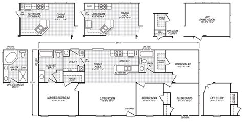 fleetwood mobile home floor plans house design ideas