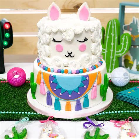 festive llama birthday