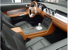 Concept 2005 Mustang GT Interior The Mustang Source