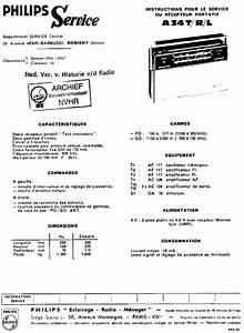 Atlantic Philips A34 Tr L Portable Receiver 1966 Sm Service Manual Download  Schematics  Eeprom