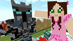 Minecraft: MY GIANT STATUE! - POPULARMMOS THEME PARK [1 ...  Popularmmos