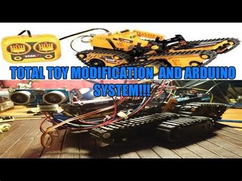 Total Modification by Arduino Robot Autonome Total Modification Owi Atr