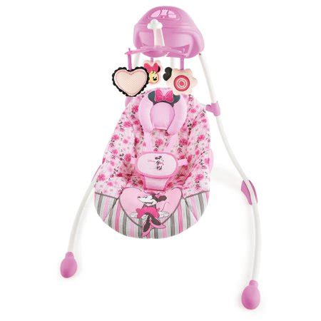 Minnie Mouse Baby Swing by Disney Baby Minnie Mouse Precious Petals Swing Walmart