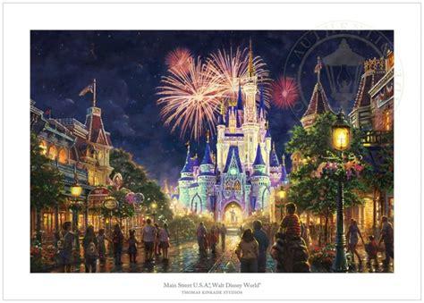 Main Street Usa Paper Edition / Thomas Kinkade / Disney