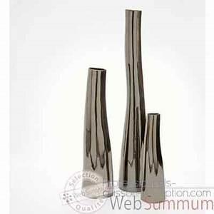 Grand Vase Design : vase tonga design fdc 5122argent dans argent sur professionnels cuisson reception ~ Teatrodelosmanantiales.com Idées de Décoration
