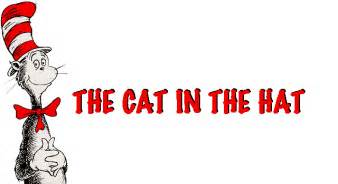 cat in the hat text drsuess the cat in the hat